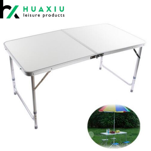 outdoor dining aluminum folding table 4ft*2ft