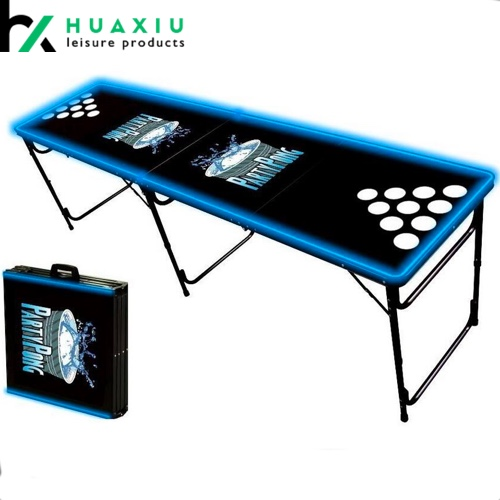 led beer pong tables